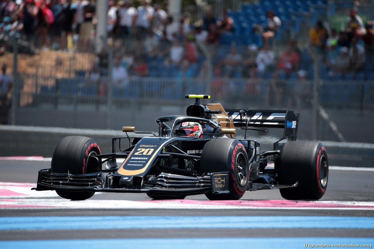 GP FRANCIA, 22.06.2019 - Prove Libere 3, Kevin Magnussen (DEN) Haas F1 Team VF-19