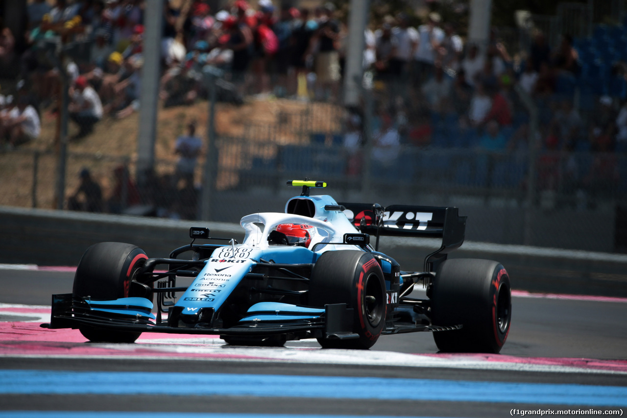 GP FRANCIA, 22.06.2019 - Prove Libere 3, Robert Kubica (POL) Williams Racing FW42
