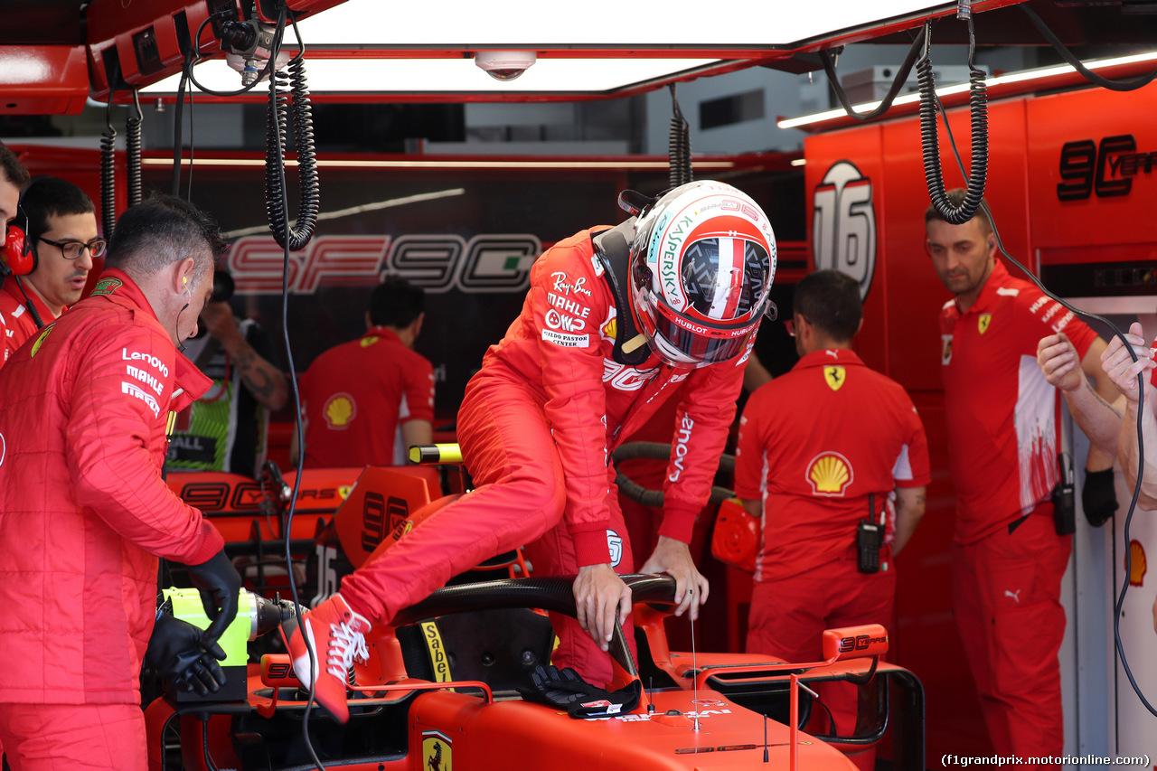 GP FRANCIA, 22.06.2019 - Prove Libere 3, Charles Leclerc (MON) Ferrari SF90