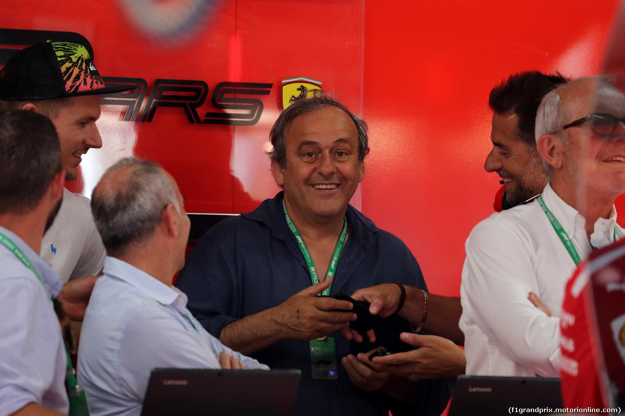 GP FRANCIA, 22.06.2019 - Prove Libere 3, Michel Platini (FRA)