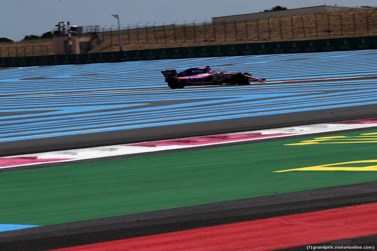 GP FRANCIA, 22.06.2019 - Qualifiche, Lance Stroll (CDN) Racing Point F1 Team RP19
