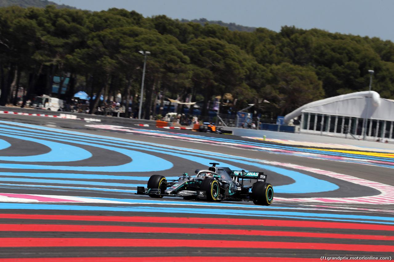 GP FRANCIA, 22.06.2019 - Qualifiche, Lewis Hamilton (GBR) Mercedes AMG F1 W10