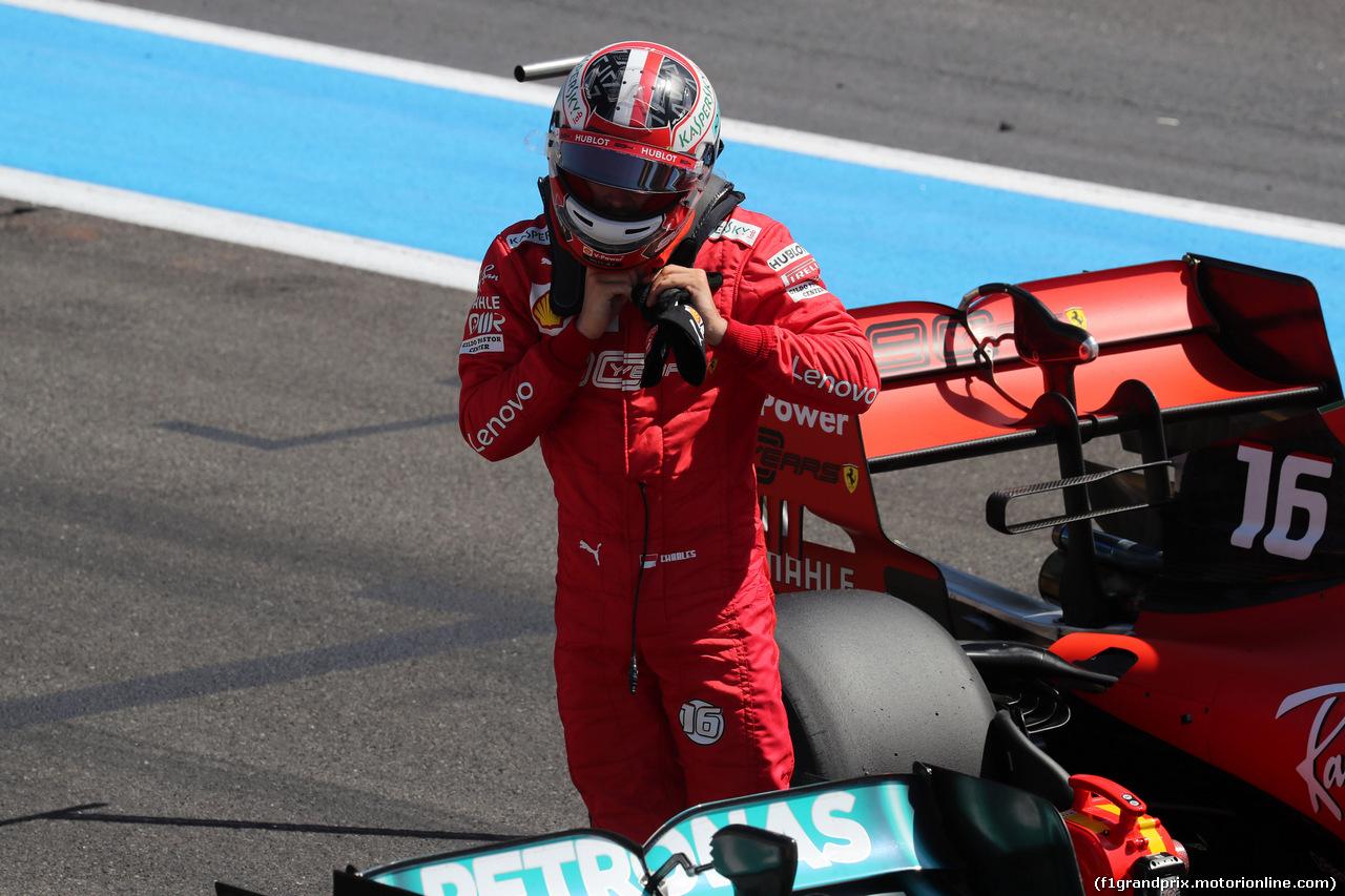 GP FRANCIA, 22.06.2019 - Qualifiche, 3rd place Charles Leclerc (MON) Ferrari SF90