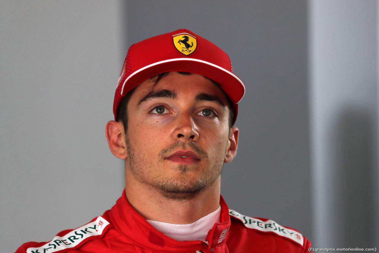 GP FRANCIA, 22.06.2019 - Qualifiche, Conferenza Stampa, Charles Leclerc (MON) Ferrari SF90