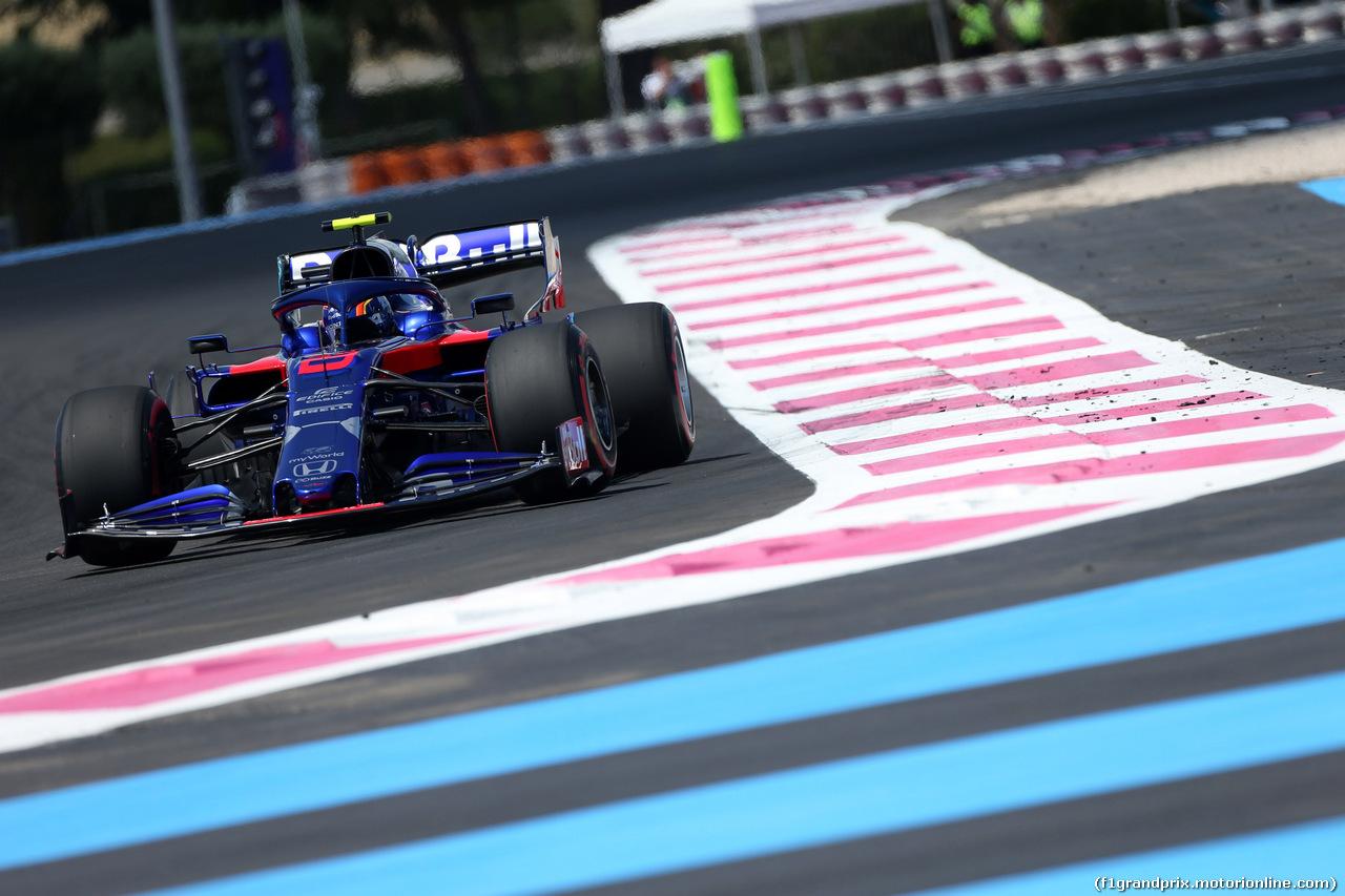 GP FRANCIA, 22.06.2019 - Qualifiche, Alexander Albon (THA) Scuderia Toro Rosso STR14