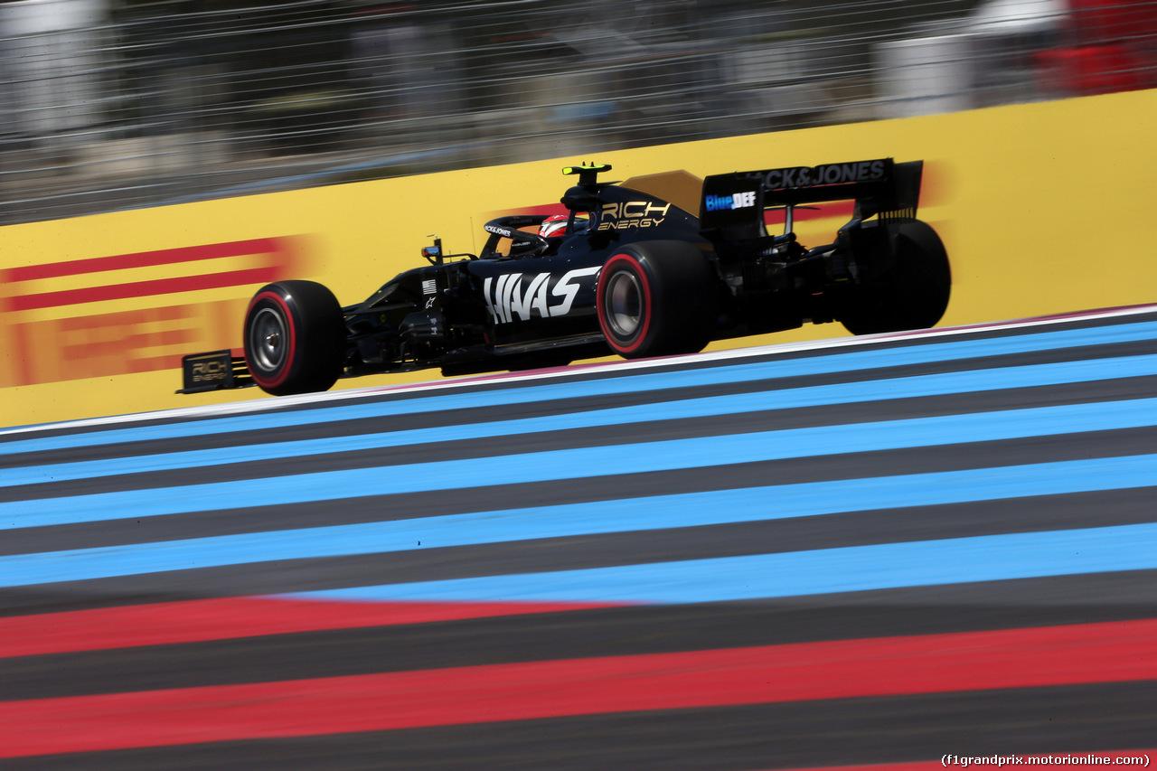 GP FRANCIA, 22.06.2019 - Qualifiche, Kevin Magnussen (DEN) Haas F1 Team VF-19