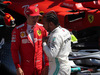 GP FRANCIA, 22.06.2019 - Qualifiche, 3rd place Charles Leclerc (MON) Ferrari SF90 e Lewis Hamilton (GBR) Mercedes AMG F1 W10 pole position