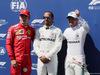 GP FRANCIA, 22.06.2019 - Qualifiche, 3rd place Charles Leclerc (MON) Ferrari SF90, Lewis Hamilton (GBR) Mercedes AMG F1 W10 pole position e 2nd place Valtteri Bottas (FIN) Mercedes AMG F1 W010