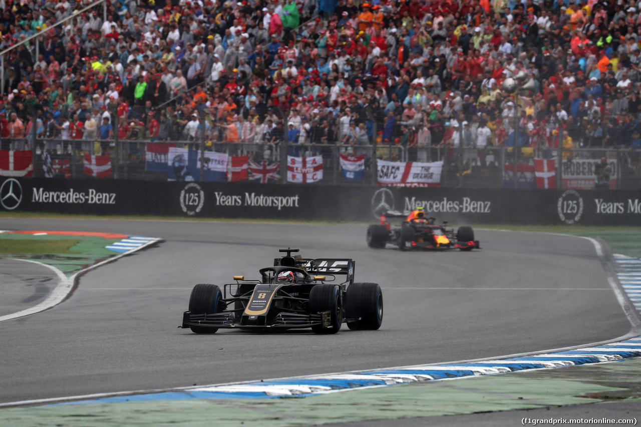 GP GERMANIA, 28.07.2019 - Gara, Romain Grosjean (FRA) Haas F1 Team VF-19