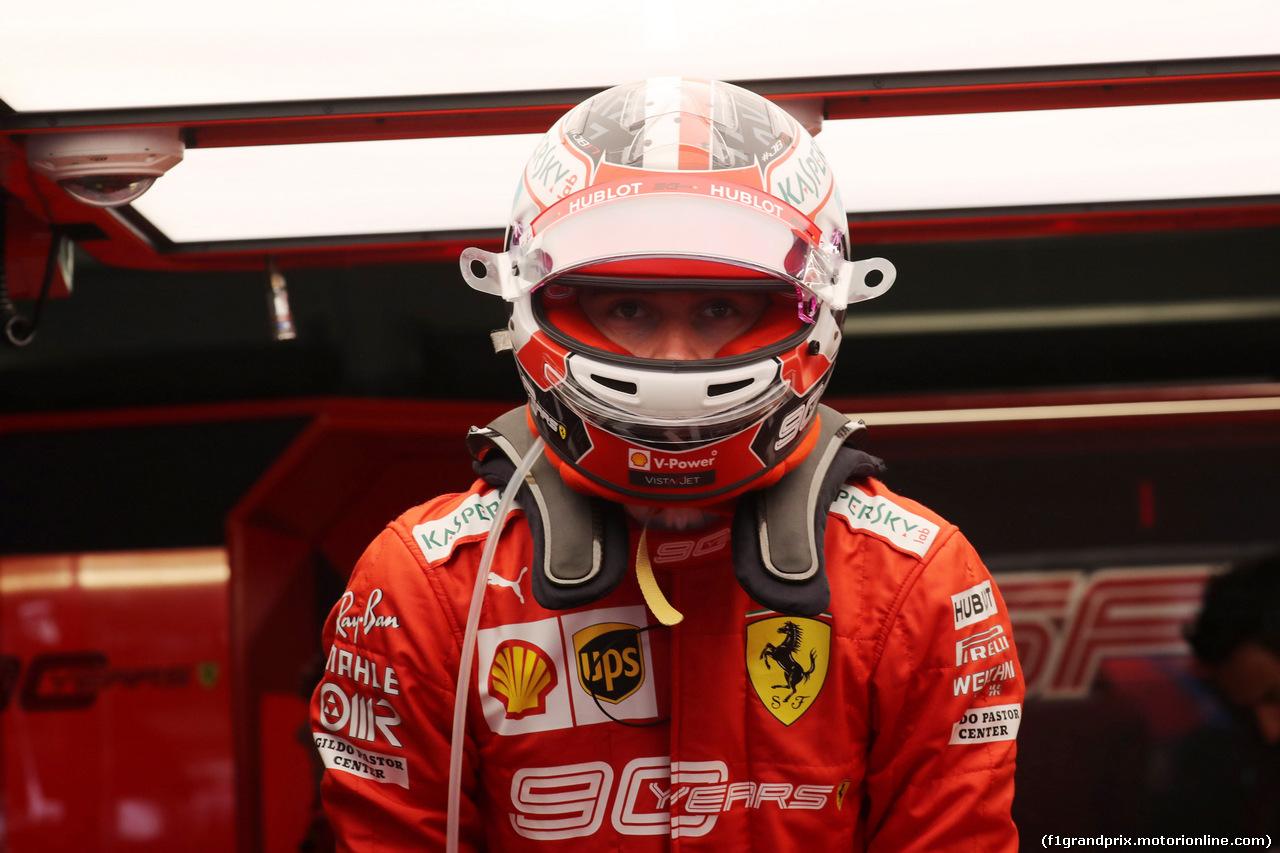 GP GERMANIA, 28.07.2019 - Gara, Charles Leclerc (MON) Ferrari SF90