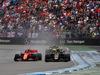 GP GERMANIA, 28.07.2019 - Gara, Charles Leclerc (MON) Ferrari SF90 e Kevin Magnussen (DEN) Haas F1 Team VF-19