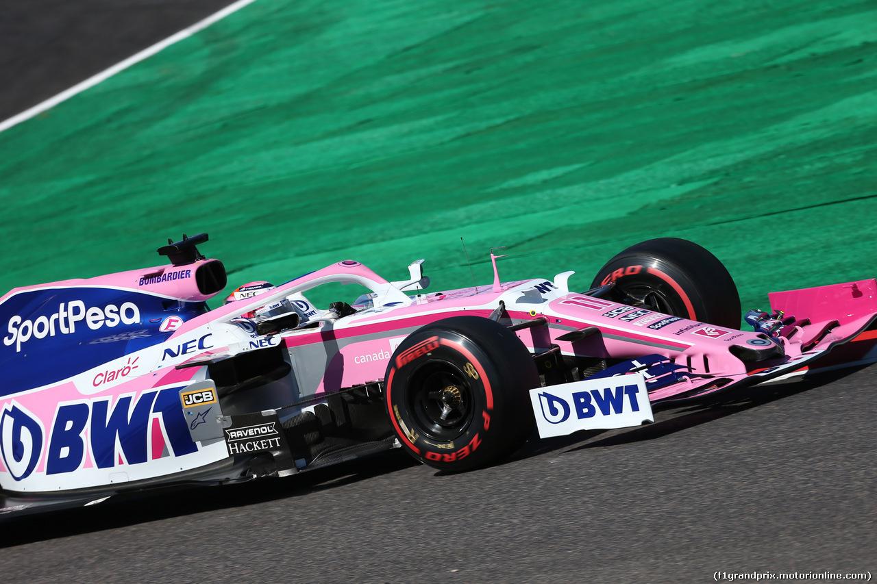 GP GIAPPONE, 13.10.2019- Qualifiche, Sergio Perez (MEX) Racing Point F1 RP19