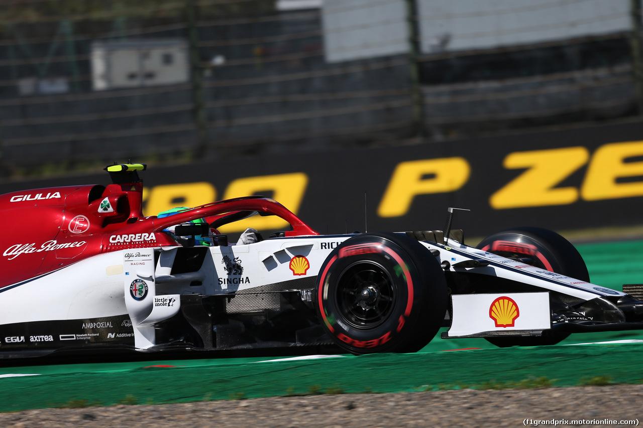 GP GIAPPONE, 13.10.2019- Qualifiche, Antonio Giovinazzi (ITA) Alfa Romeo Racing C38
