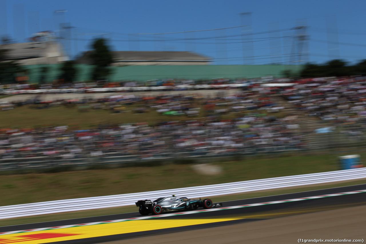 GP GIAPPONE, 13.10.2019- Qualifiche, Valtteri Bottas (FIN) Mercedes AMG F1 W10 EQ Power