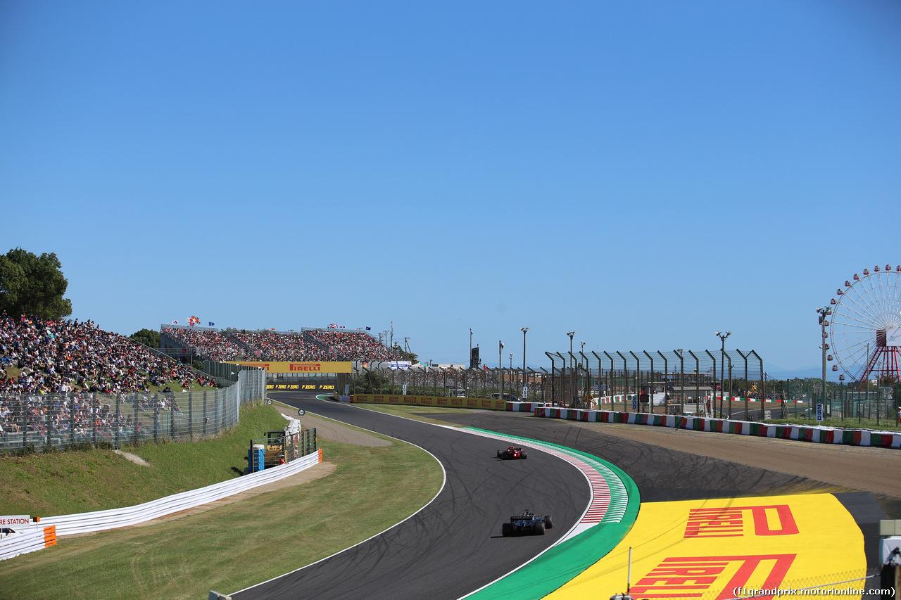 GP GIAPPONE, 13.10.2019- Qualifiche, Romain Grosjean (FRA) Haas F1 Team VF-19