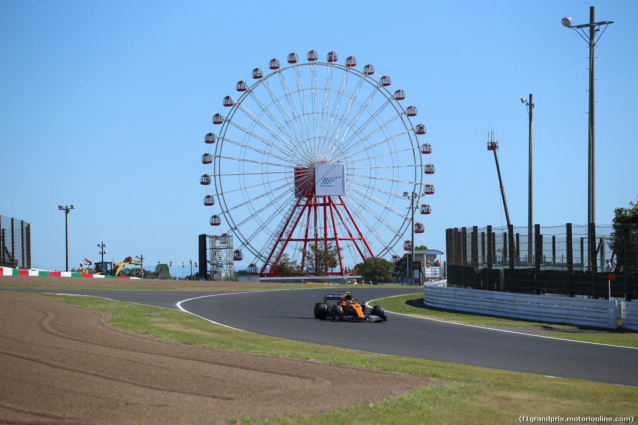 GP GIAPPONE, 13.10.2019- Qualifiche, Carlos Sainz Jr (ESP) Mclaren F1 Team MCL34