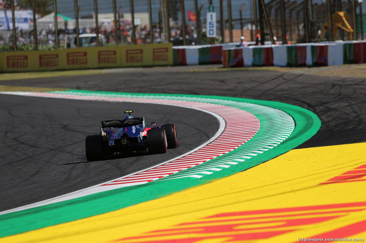 GP GIAPPONE, 13.10.2019- Qualifiche, Pierre Gasly (FRA) Scuderia Toro Rosso STR14