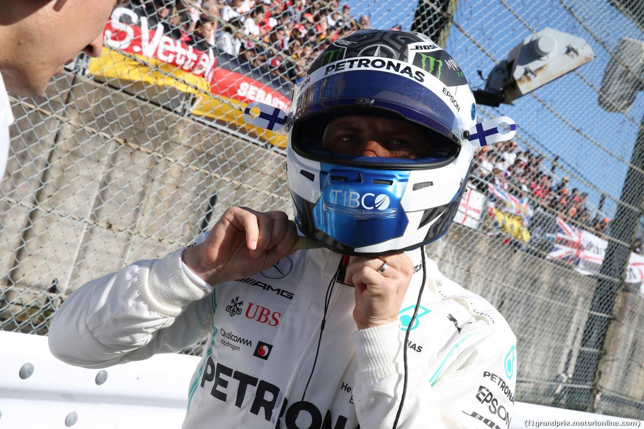 GP GIAPPONE, 13.10.2019- partenzaing grid, Valtteri Bottas (FIN) Mercedes AMG F1 W10 EQ Power