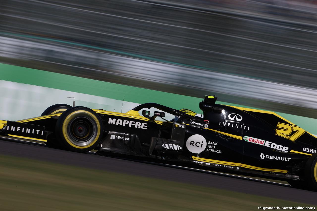 GP GIAPPONE, 13.10.2019- Gara, Nico Hulkenberg (GER) Renault Sport F1 Team RS19