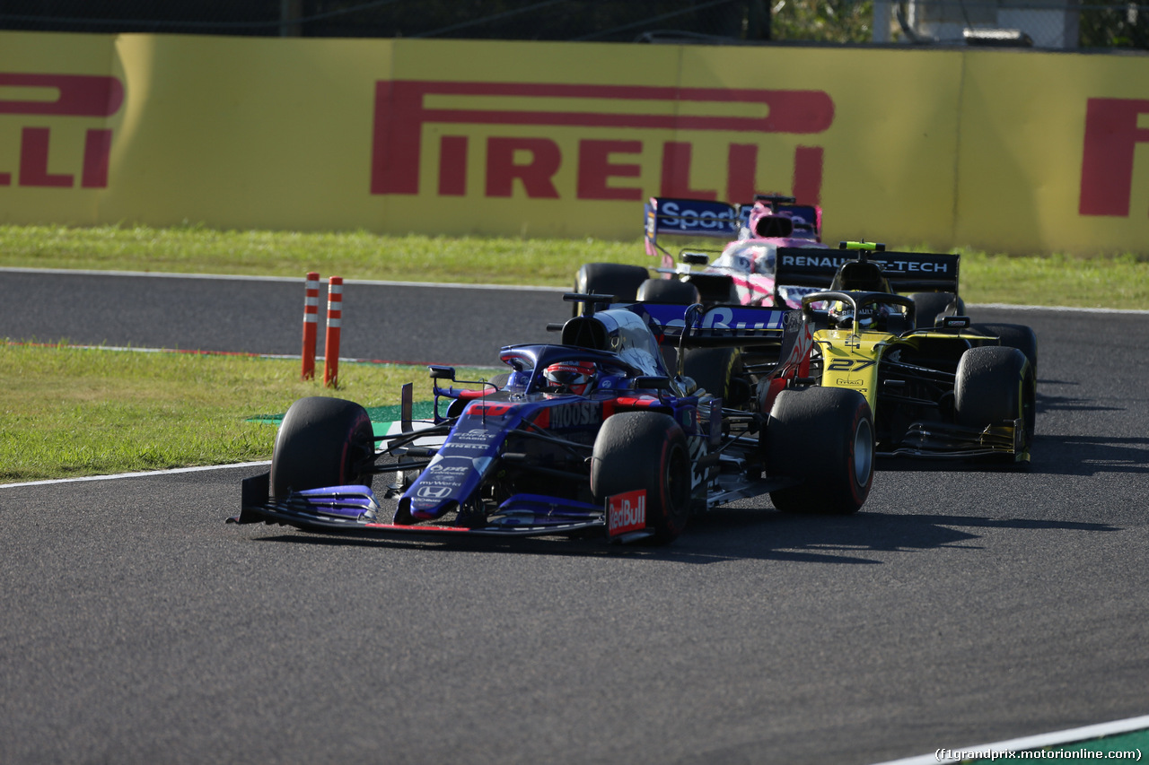GP GIAPPONE, 13.10.2019- Gara, Daniil Kvyat (RUS) Scuderia Toro Rosso STR14
