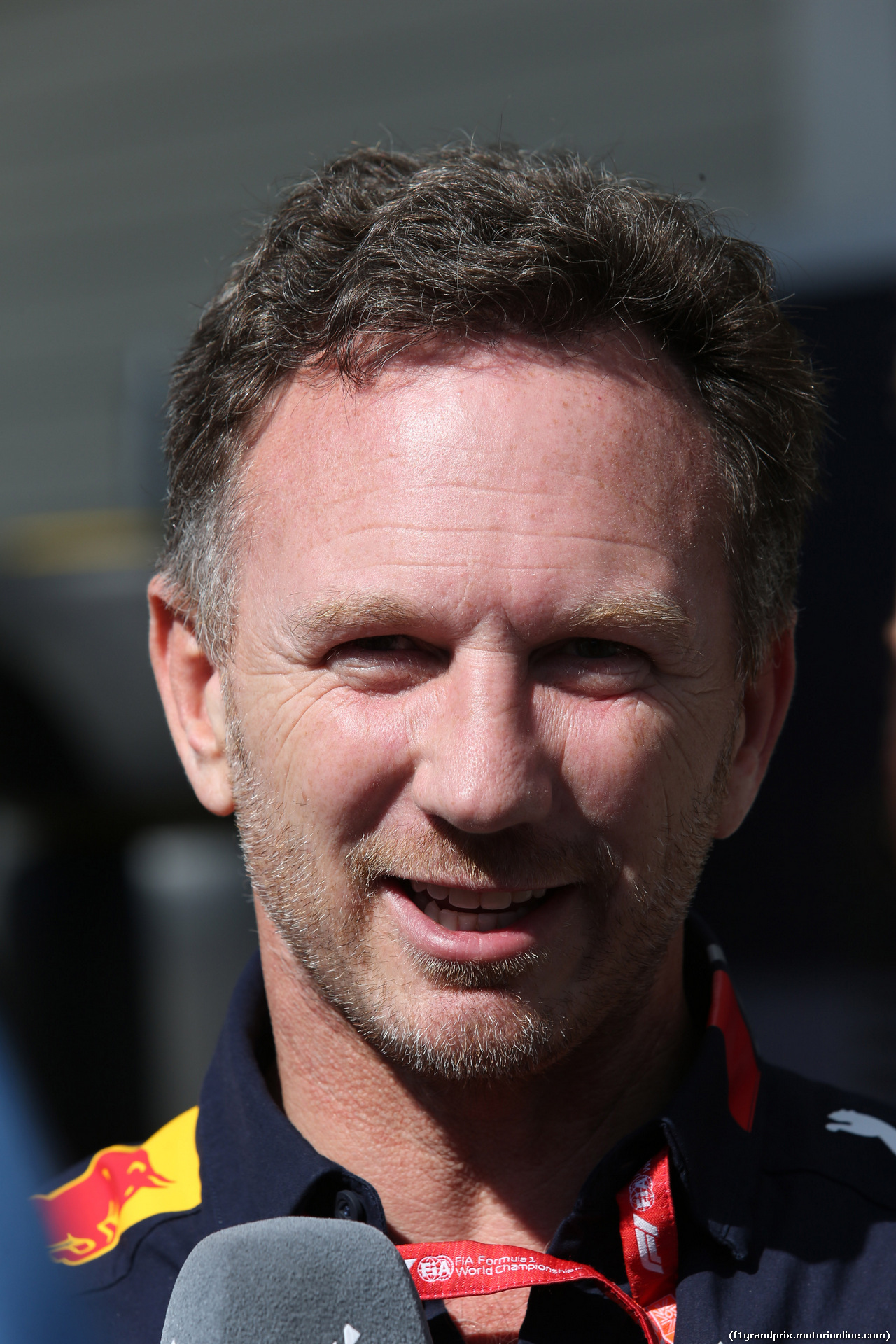 GP GIAPPONE, 13.10.2019- partenzaing grid, Christian Horner (GBR), Red Bull Racing, Sporting Director