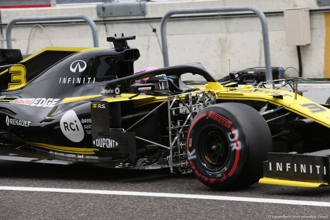 GP GIAPPONE, 11.10.2019- Prove Libere 1, Daniel Ricciardo (AUS) Renault Sport F1 Team RS19