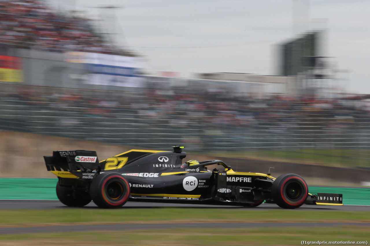 GP GIAPPONE, 11.10.2019- Prove Libere 1, Nico Hulkenberg (GER) Renault Sport F1 Team RS19