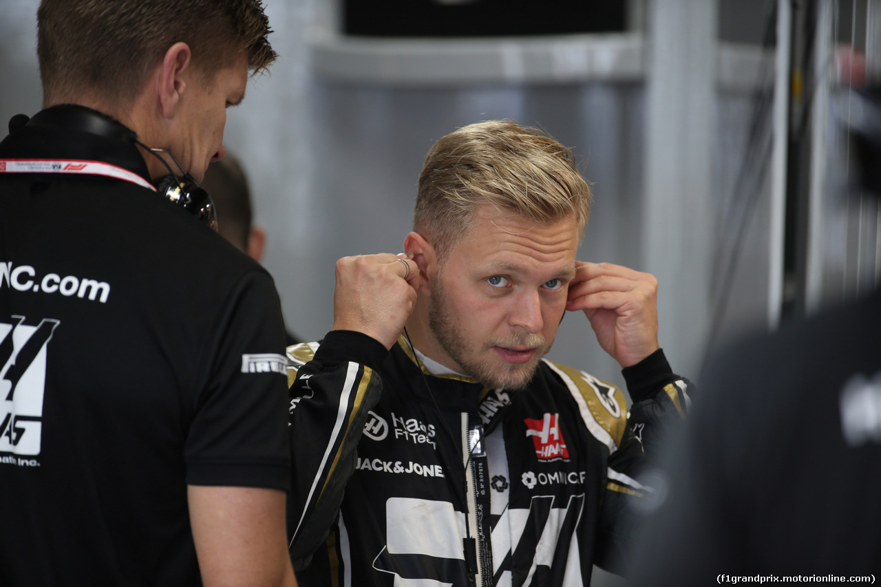 GP GIAPPONE, 11.10.2019- Prove Libere 1, Kevin Magnussen (DEN) Haas F1 Team VF-19