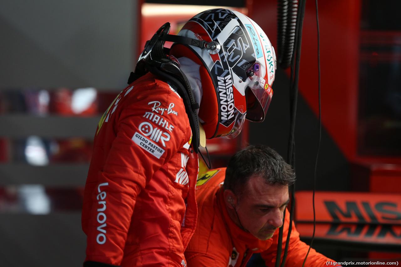 GP GIAPPONE, 11.10.2019- Prove Libere 2, Charles Leclerc (MON) Ferrari SF90