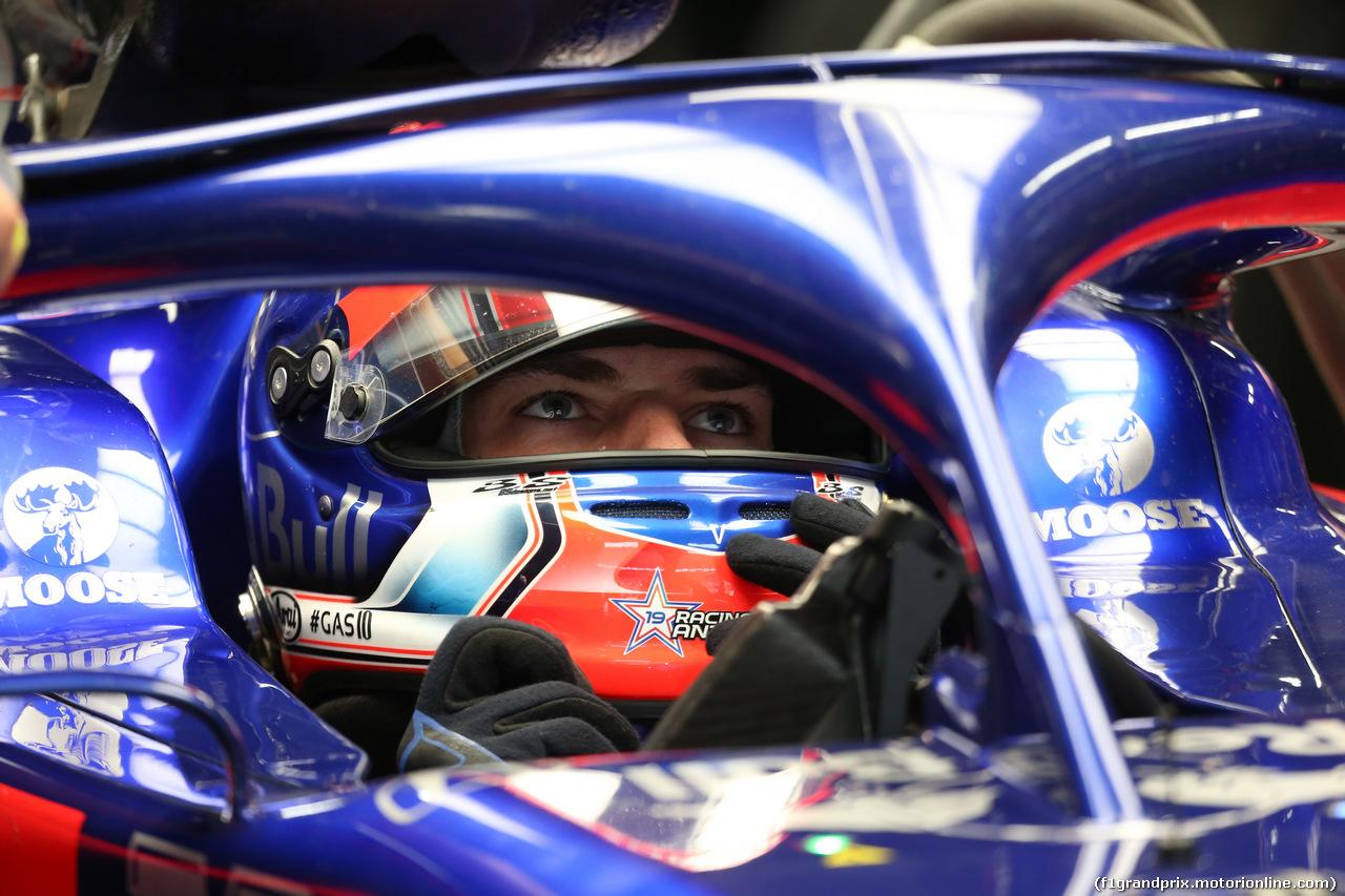 GP GIAPPONE, 11.10.2019- Prove Libere 2, Pierre Gasly (FRA) Scuderia Toro Rosso STR14