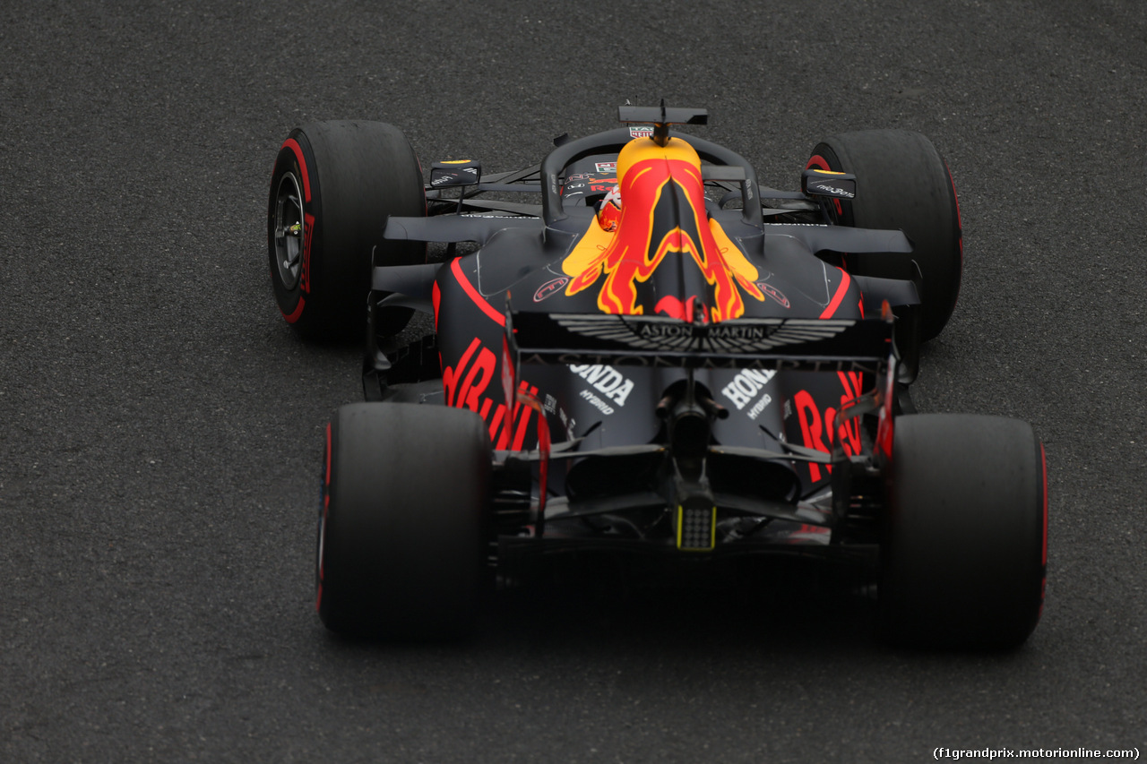 GP GIAPPONE, 11.10.2019- Prove Libere 2, Max Verstappen (NED) Red Bull Racing RB15