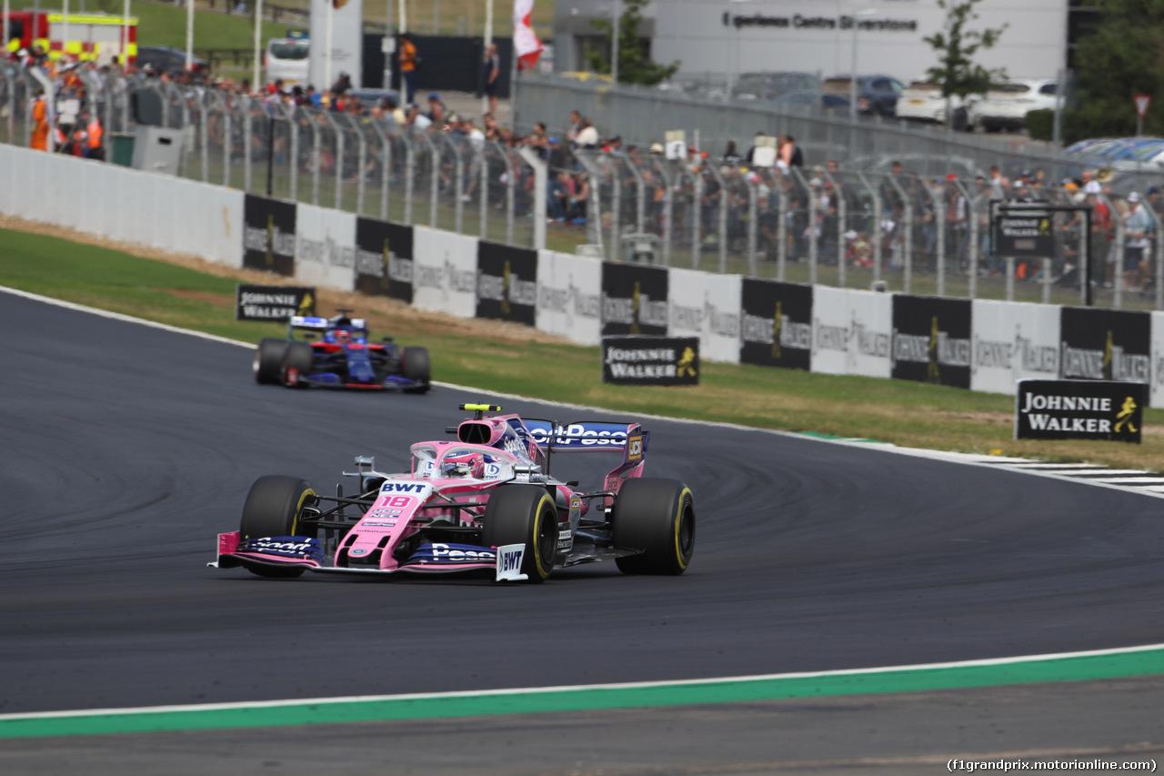 GP GRAN BRETAGNA, 14.07.2019- Gara, Lance Stroll (CDN) Racing Point F1 RP19