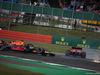 GP GRAN BRETAGNA, 14.07.2019- Gara,  Sebastian Vettel (GER) Ferrari SF90 crash with Max Verstappen (NED) Red Bull Racing RB15