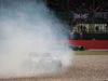 GP GRAN BRETAGNA, 14.07.2019- Gara, Antonio Giovinazzi (ITA) Alfa Romeo Racing C38 spins e goes in the gravel