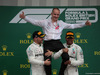 GP GRAN BRETAGNA, 14.07.2019- podium, winner Lewis Hamilton (GBR) Mercedes AMG F1 W10 EQ Power, 2nd place Valtteri Bottas (FIN) Mercedes AMG F1 W10 EQ Power