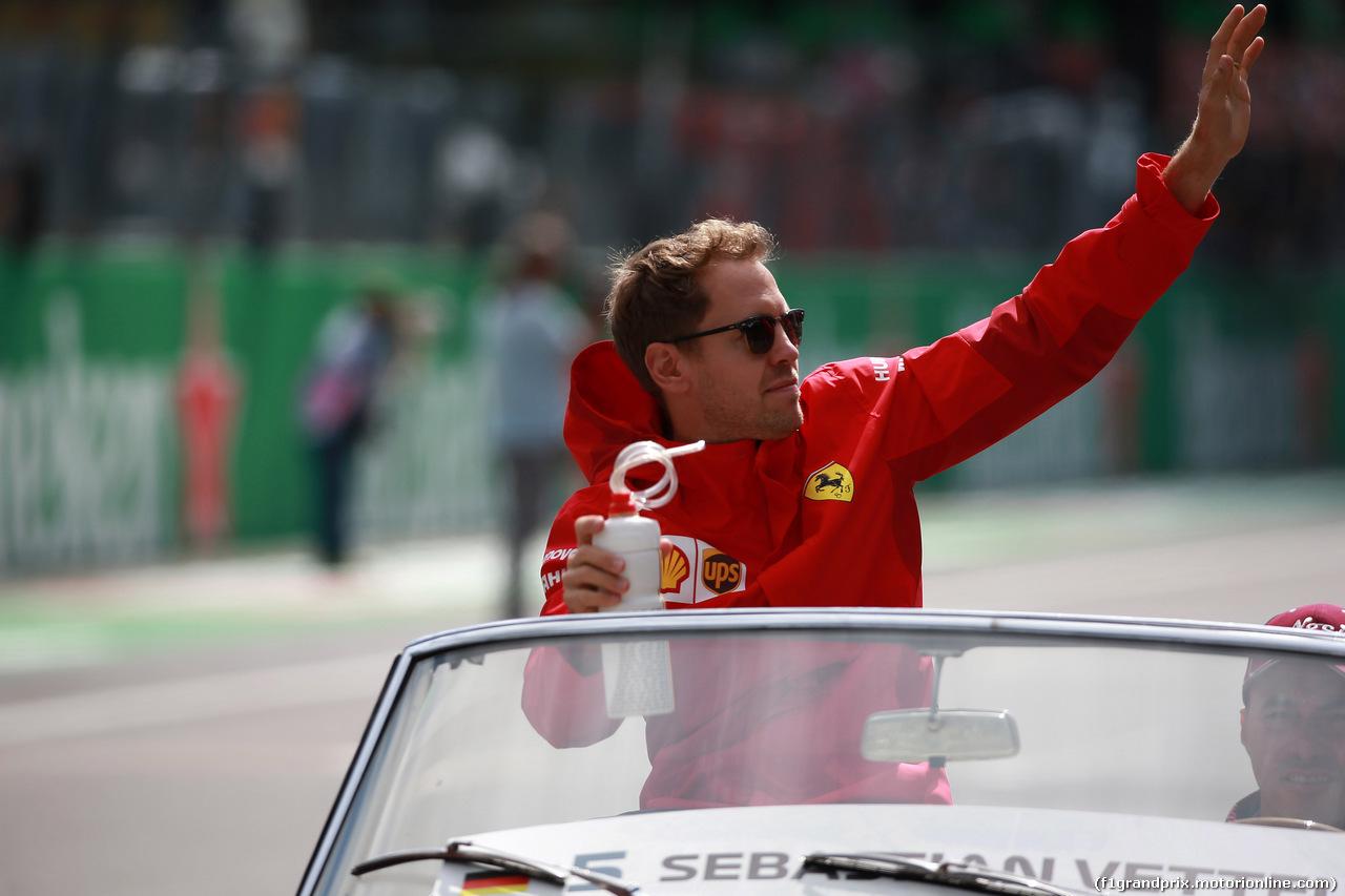 GP ITALIA, 08.09.2019 - Sebastian Vettel (GER) Ferrari SF90