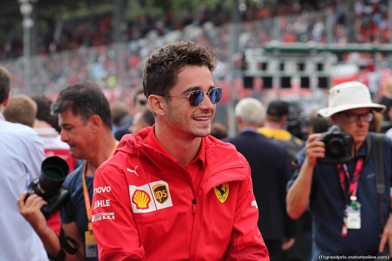GP ITALIA, 08.09.2019 - Charles Leclerc (MON) Ferrari SF90