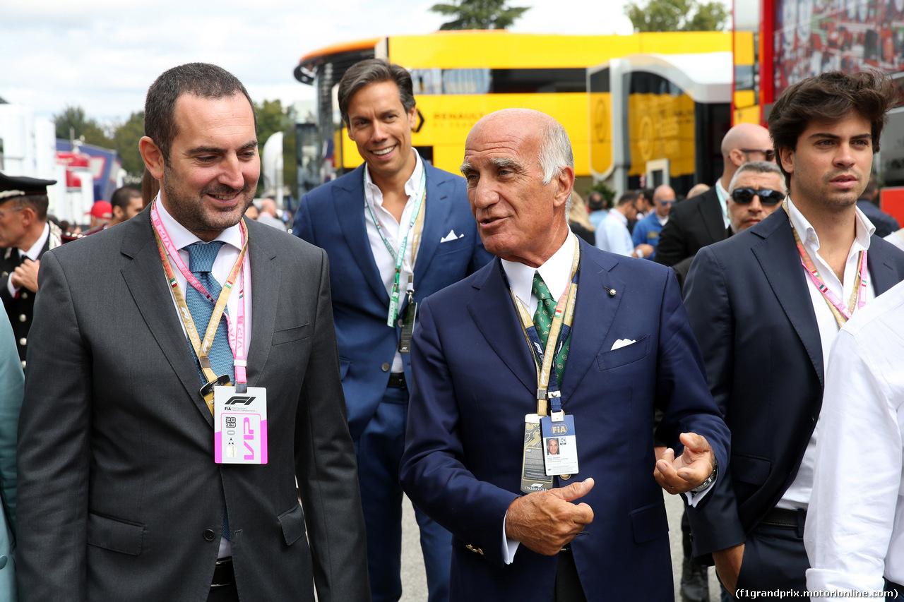 GP ITALIA, 08.09.2019 - Dr. Angelo Sticchi Damiani (ITA) Aci Csai President