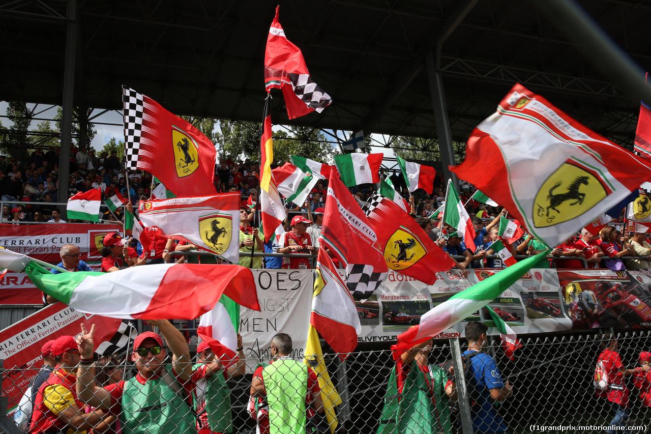 GP ITALIA, 08.09.2019 - Fans