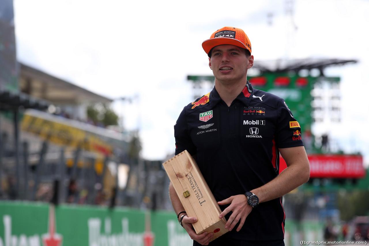 GP ITALIA, 08.09.2019 - Max Verstappen (NED) Red Bull Racing RB15