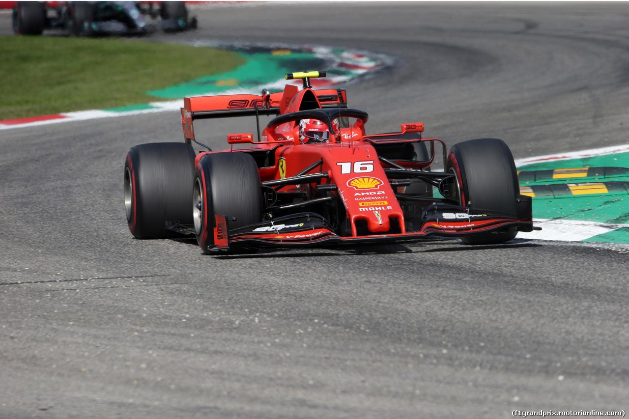 GP ITALIA, 08.09.2019 - Gara, Charles Leclerc (MON) Ferrari SF90 c