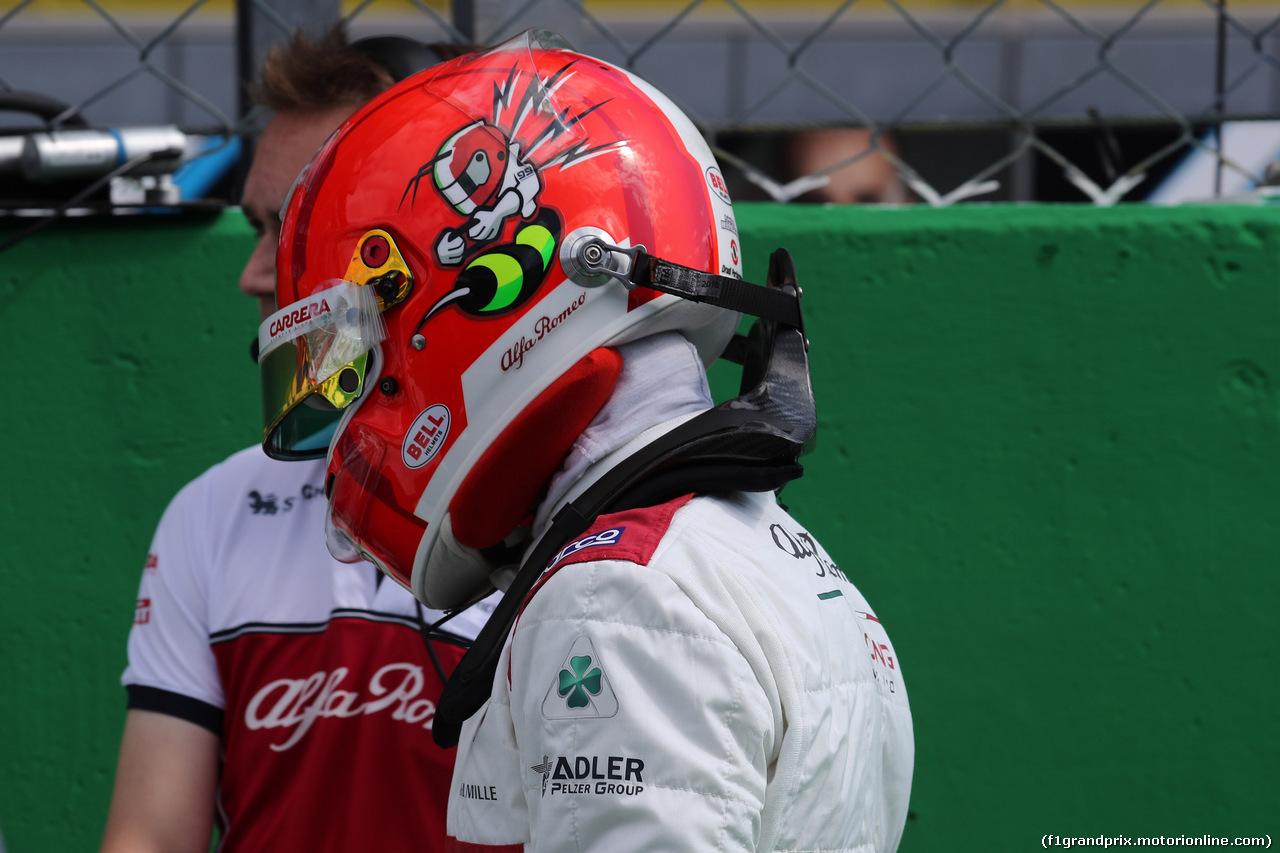 GP ITALIA, 08.09.2019 - Gara, Antonio Giovinazzi (ITA) Alfa Romeo Racing C38