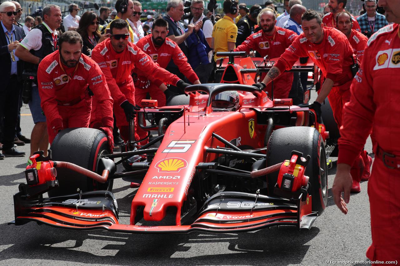 GP ITALIA, 08.09.2019 - Gara, Sebastian Vettel (GER) Ferrari SF90