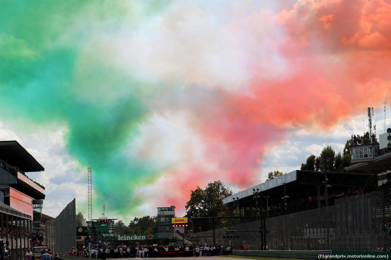 GP ITALIA, 08.09.2019 - Gara, The grid