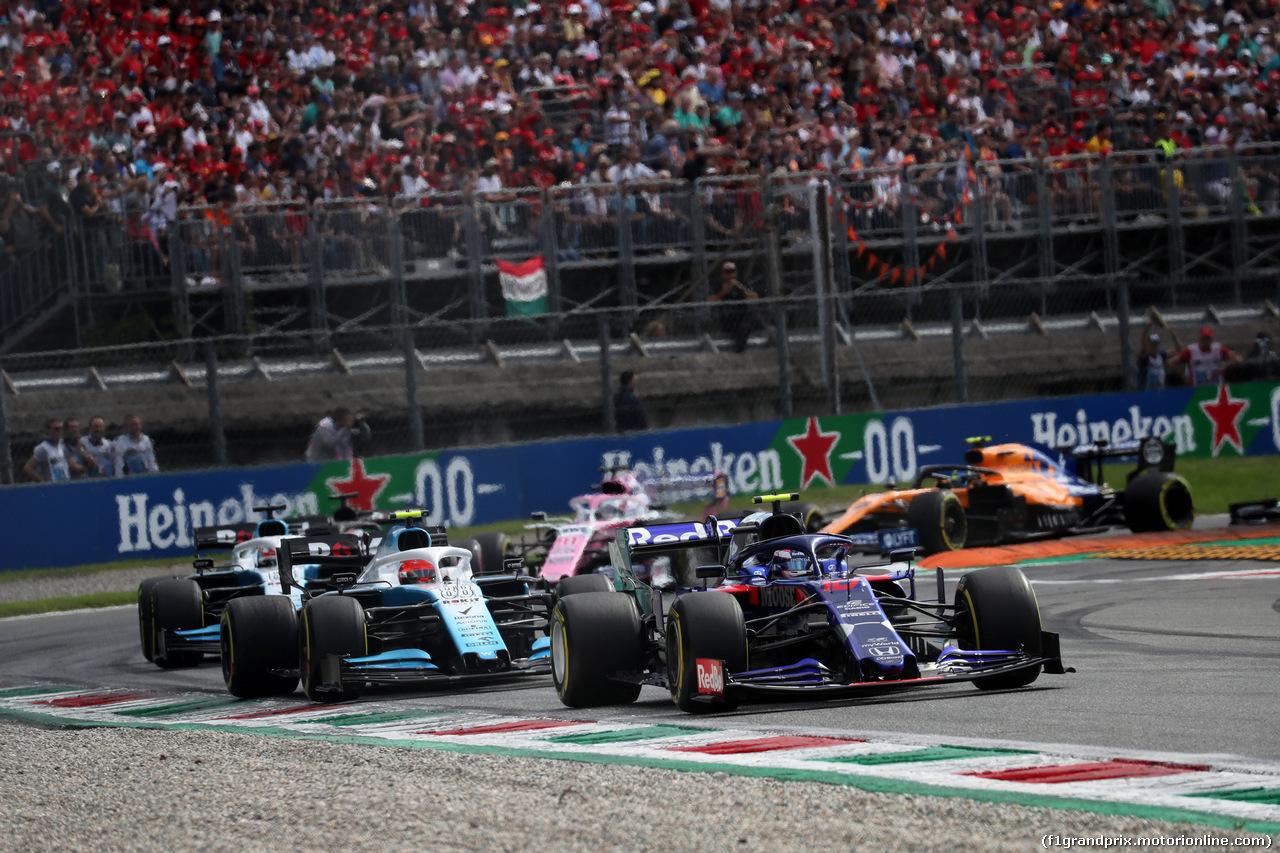 GP ITALIA, 08.09.2019 - Gara, Pierre Gasly (FRA) Scuderia Toro Rosso STR14
