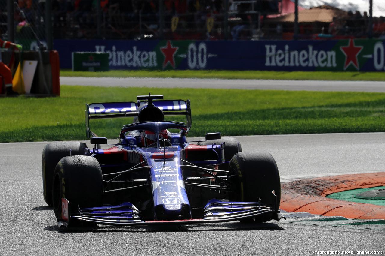 GP ITALIA, 08.09.2019 - Gara, Daniil Kvyat (RUS) Scuderia Toro Rosso STR14