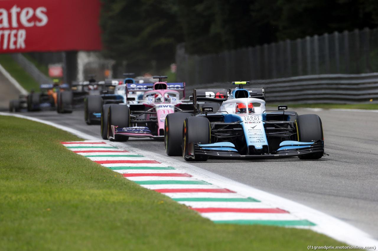 GP ITALIA, 08.09.2019 - Gara, Robert Kubica (POL) Williams Racing FW42