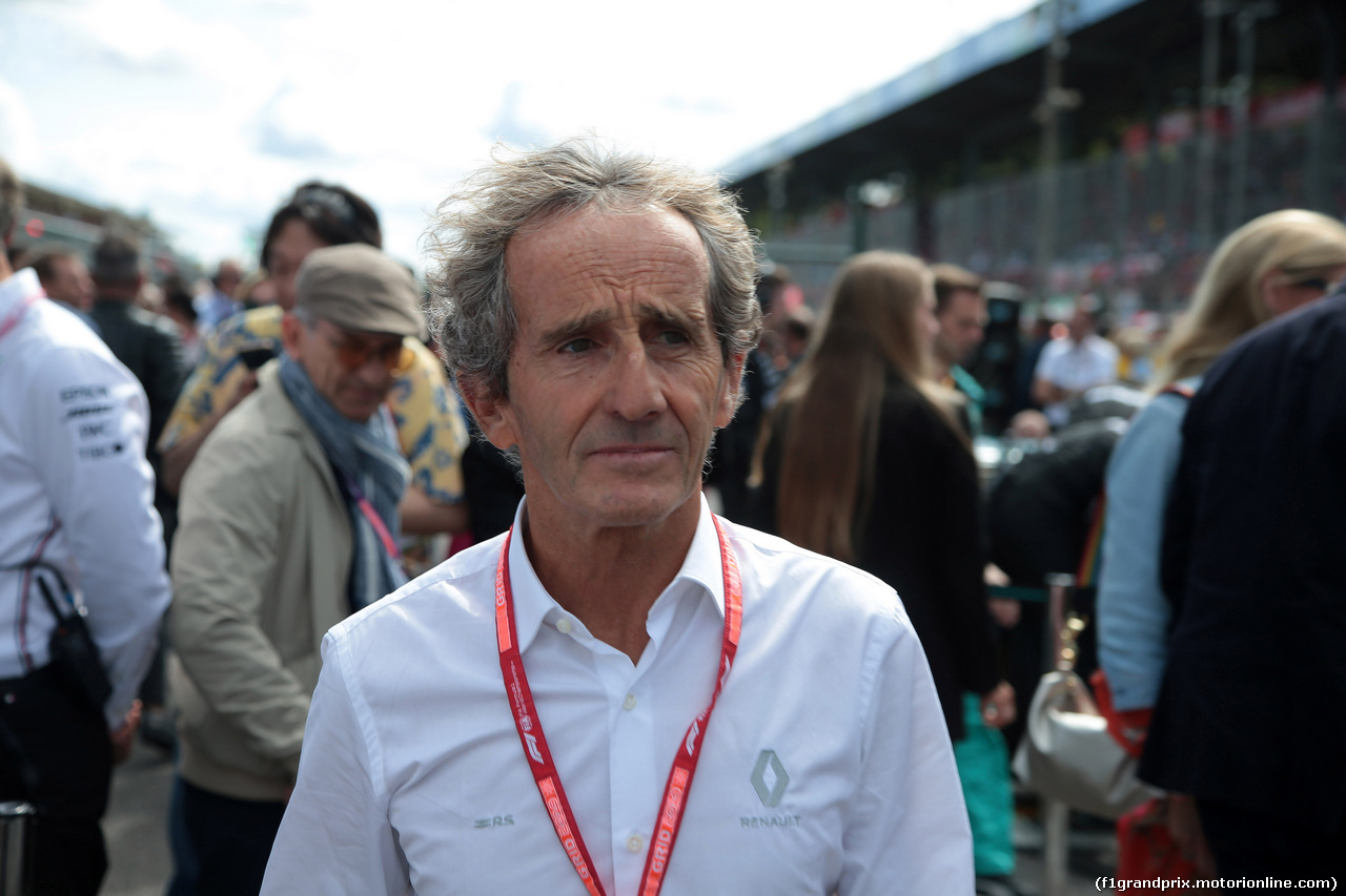GP ITALIA, 08.09.2019 - Gara, Alain Prost (FRA) Renault Sport F1 Team Special Advisor