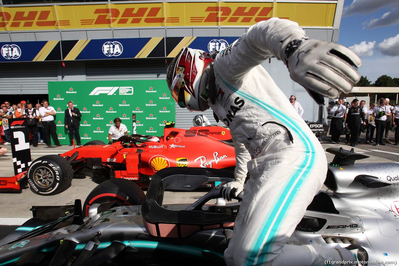 GP ITALIA, 08.09.2019 - Gara, 3* Lewis Hamilton (GBR) Mercedes AMG F1 W10