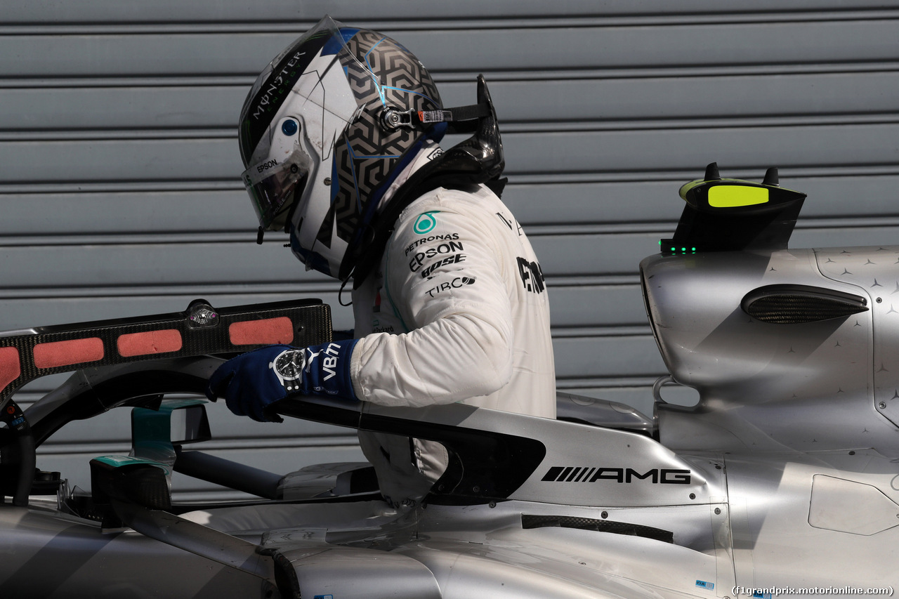 GP ITALIA, 08.09.2019 - Gara, 2nd place Valtteri Bottas (FIN) Mercedes AMG F1 W010